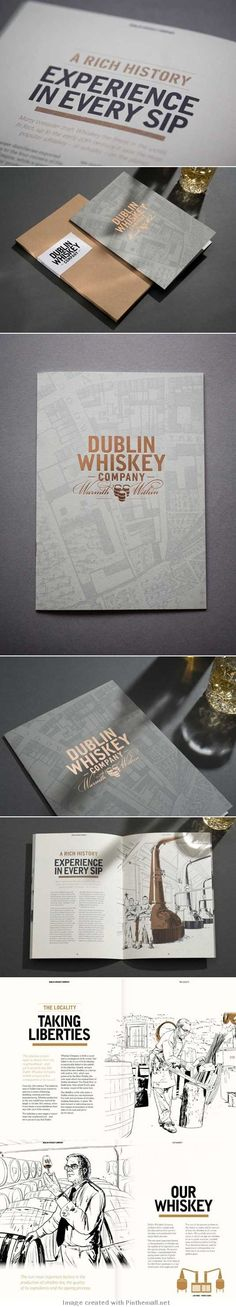 How the Dublin Whiskey Company's branding was created | Branding | Creative Bloq Like this.
