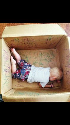 Great rainy day activity for toddlers!