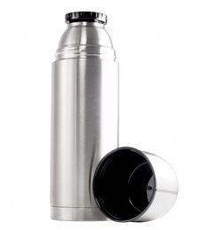 Clothing Downhill Skiing Stainless Steel Water Bottle Never Mess With A Geocacher..... 16oz New