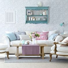 Superieur Pastel Living Room