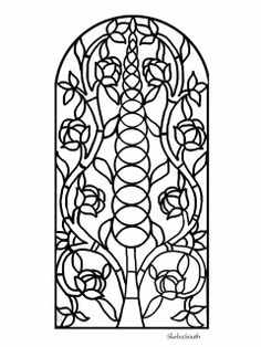 Pattern for you to color or mod as you wish. | Flickr - Photo Sharing!