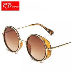 Cheap brand round sunglasses, Buy Quality round designer sunglasses directly from China round sunglasses Suppliers: Vintage Color Film Round Sunglasses Fashion Brand Designer Metal Women Mirror Sun Glasses Retro Ladies Shades Eyewear Stylish Sunglasses, Cat Eye Sunglasses, Round Sunglasses, Sunglasses Women, Steampunk Goggles, Steampunk Sunglasses, Cat Eye Frames, Womens Glasses, Women Brands