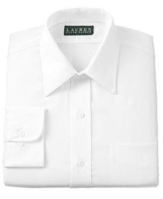 Lauren Ralph Lauren Non-Iron Twill Dress Shirt - Dress Shirts - Men - Macy's