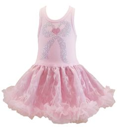 Sweet Pink Misty Bow Chiffon Sleeveless Tutu Dress, 3-6x USA, Cupcakes & Kisses #CupcakesKissesCouture #TutuDress