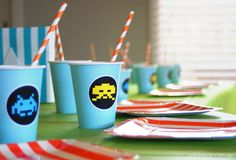 """Photo 1 of 35: Arcade Games / Birthday """"Arcade Themed 6th Birthday Party""""   Catch My Party"""