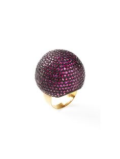Pave Ruby Dome Ring by Blake Scott on Gilt.com