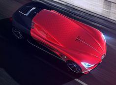 alfa romeo C18 supercar concept suits iron man's car collection