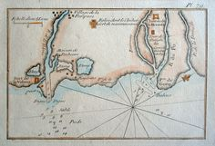 Acquaforte del 1764 del Porto di Goro (Delta del Po)