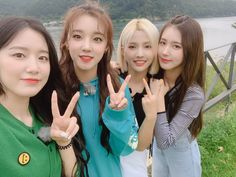 Shuhua, Yuqi, Soyeon, and Miyeon Kpop Girl Groups, Korean Girl Groups, Kpop Girls, Cubes, Little Bit, Bts And Exo, Extended Play, Cube Entertainment, Soyeon