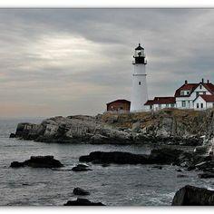 Cape Elizabeth, Maine: Light House