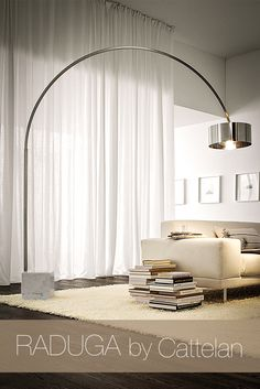 dream ceiling lamp by cattelan italia with natural linen fabric, Hause ideen
