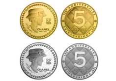 Coco Chanel 125 Years 5 Euro Coin By Karl Lagerfeld • Highsnobiety