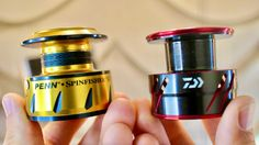 Should You Use Braid Ready Spools Or Put On A Mono Backing? Best Fishing, Fishing Tips, Perfume Bottles, Braids, Braided Line, Fishing Videos, Saltwater Fishing, Masking Tape, It Cast