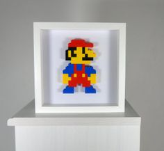 Super Mario 3D Lego Art by CoolSource on Etsy