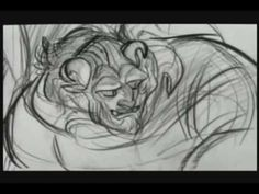 Beast pencil transformation (Beauty and the Beast)