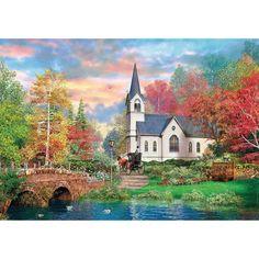 Country Living 1.000 Teile Puzzle Spiel Deutsch 2012 Thomas Kinkade