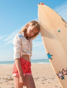 French style for young surfer girls x