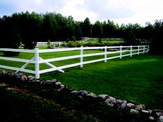Horse Fence - Combination Fence: 3 Rail Flex Rail with Mesh. By System Fence.
