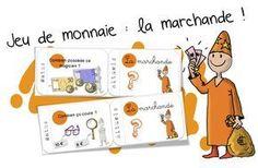 """Jeu de la monnaie : cartes """" rituels """" """"La Marchande"""" - Bout de gomme"""