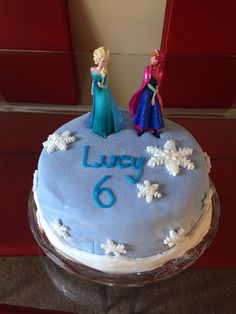Homemade Frozen Cake birthday cakes and more Pinterest