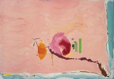jimlovesart:  Helen Frankenthaler - Flirt, 1995.