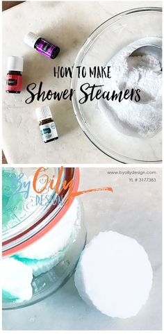Try this easy recipe to make your own shower steamers. Shower steamers are super popular right now. Make this recipe to create your own shower steamers for your wellness. Great for homemade gifts. Essential Oils For Skin, Essential Oil Uses, Young Living Essential Oils, Essential Oil Diffuser, Diy Gifts With Essential Oils, Shower Bombs, Bath Bombs, Shower Steamers, Thing 1