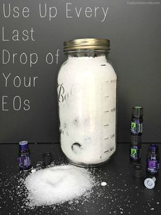 Use Up Every Last Drop of Your Essential Oils