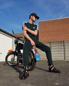 Just lit   Insta: nvberlo   #adidas#drmartens#woodwood#streetwear#fashion#sandels#sportlook#menswear