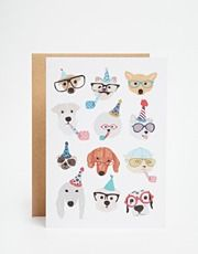 Ohh Deer Party Dogs Card