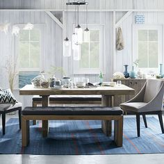 Emmerson® Reclaimed Wood Dining Table #westelm