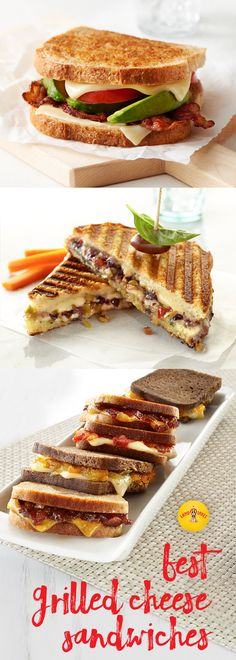 Check out these amazing grilled cheese ideas! From Brussels sprouts and bacon to jalapeno poppers, there's something for everyone.