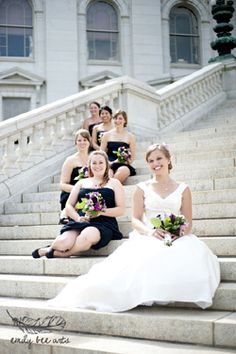 Great Bridesmaid Pose by Emily Bee Arts Madison Wisconsin Wedding Photographer