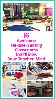 16 Awesome Flexible-Seating Classrooms That'll Blow Your Teacher Mind – Bored Teachers