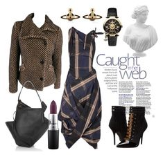"""""""Vivienne Westwood"""" by pixidreams ❤ liked on Polyvore featuring Vivienne Westwood, MAC Cosmetics and viviennewestwood"""