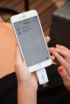 I-USBKey+ 64GB - Clé USB pour iPhone et iPad, Apple MFI Certifié avec connecteur Lightning: Amazon.fr: High-tech
