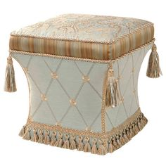 I pinned this Savannah Ottoman from the Feminine Chic event at Joss and Main!