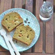 Cake salato di ceci e verdure http://www.babygreen.it/2016/09/cake-salato-ceci-verdure/