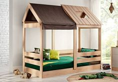 Παιδικό κρεβάτι Montessori My House 1869 Montessori, Bunk Beds, My House, Furniture, Home Decor, Cooking, Child Room, Decoration Home, Room Decor
