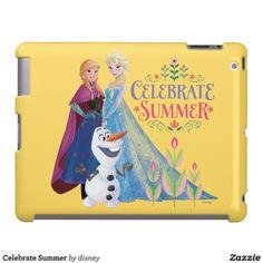 Disney Frozen Elsa, Anna and Olaf iPad 2/3/4 and iPad with Retina Display Case #DisneyFrozen