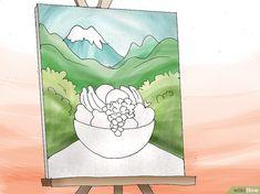 Comment peindre un tableau avec de la peinture acrylique Acrylic Painting Techniques, Step By Step Painting, Big Shot, Artwork, Acrylic Painting Lessons, How To Paint, Acrylic Paintings, Landscape Paintings, Canvases