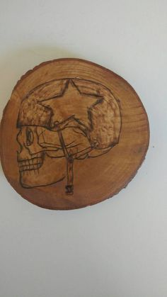 Check out this item in my Etsy shop https://www.etsy.com/ca/listing/476670517/biker-skull-wood-burning