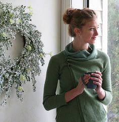 Ravelry: Clarity Cardigan pattern by Gretchen Ronnevik