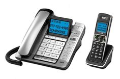 RCA-7114-2BSGA Expandable Corded Cordless Phone, Answering Sys, Caller ID, CWCID #RCA