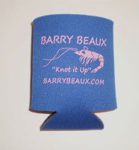 Keep your drink cold with this Barry Beaux koozie
