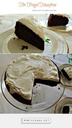 Easy Guinness Chocolate Cake, adapted from Nigella Lawson | Frugal Hausfrau