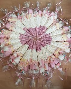 Pink Girly Sweet Cones each. Discount for larger orders . Unicorn Birthday Parties, Unicorn Party, Birthday Party Decorations, Sweet Corner, Baby Shower Parties, Homemade Gifts, Valentine Gifts, First Birthdays, Wedding Gifts