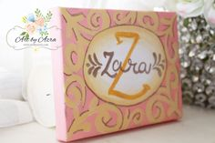 Personalized Name Canvas