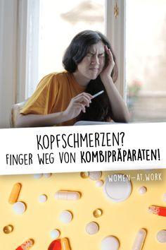 Bei Kopfschmerzen greifen fast 90 Prozent aller Deutschen zu rezeptfreien Schmerzmitteln. Das ist auch okay, sagen die Experten. Aber sie warnen dringend vor der Einnahme von Kombipräparaten. Hier bekommst du klare Empfehlungen, welcher Wirkstoff wann am besten hilft und welche Alternativen es gibt. Finger, Tension Headache, Health, Fingers
