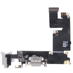 [$6.91] Charging Port Dock Connector Flex Cable Replacement for iPhone 6 Plus