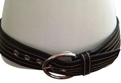 PRADA BLACK LEATHER BELT. Get the lowest price on PRADA BLACK LEATHER BELT and other fabulous designer clothing and accessories! Shop Tradesy now